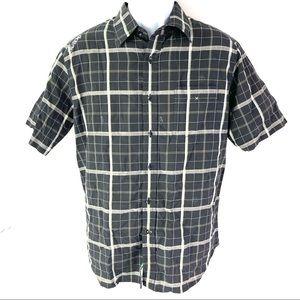 Billabong Men's Black Button Shirt L